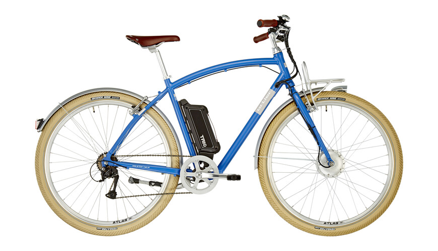 Ortler Kingman E-Citybike blue